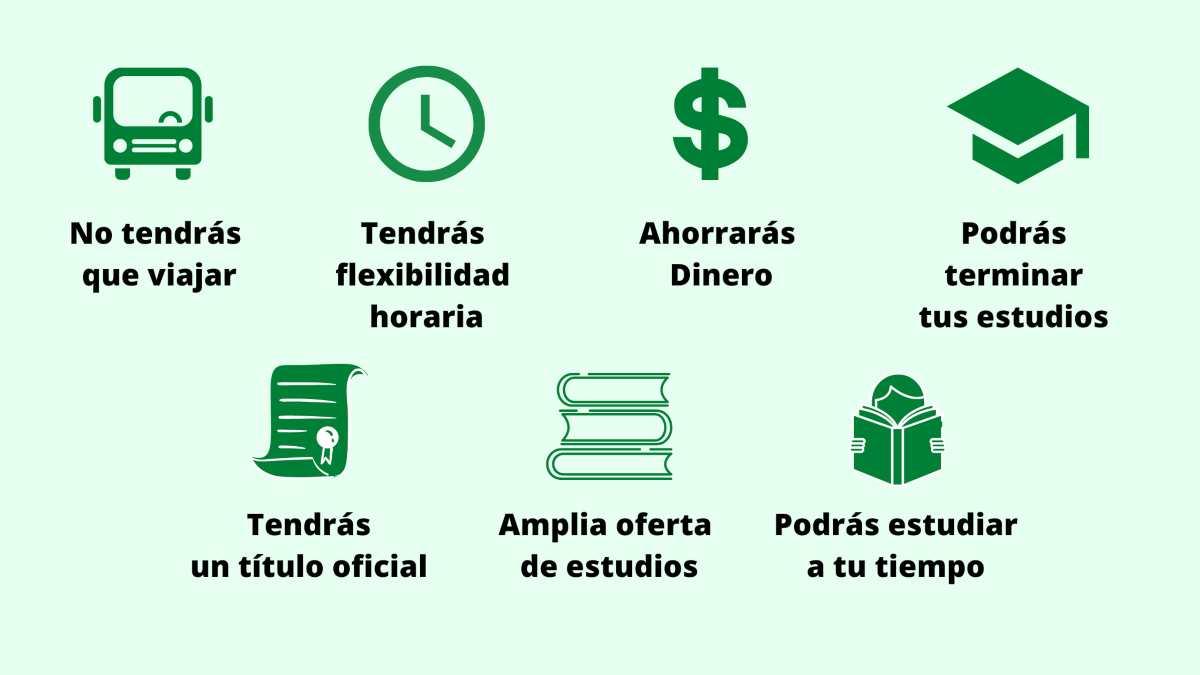 Beneficios de estudiar en línea